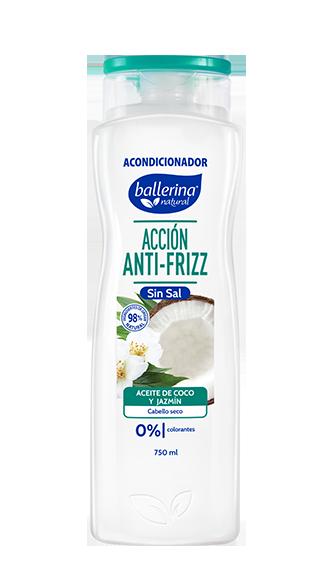 Sin Sal Aceite de Coco y Jazmín