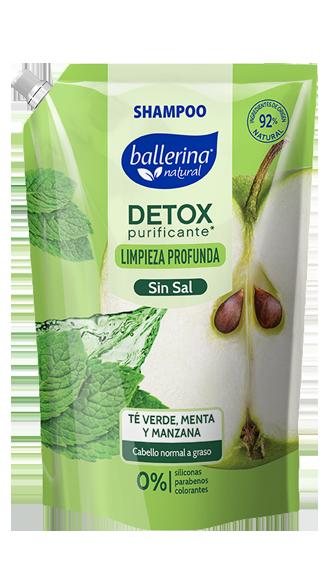 Detox Purificante Té Verde, Menta y Manzana