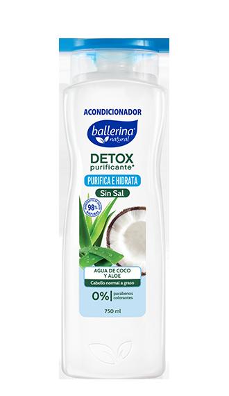 Detox Purificante Agua de Coco y Aloe